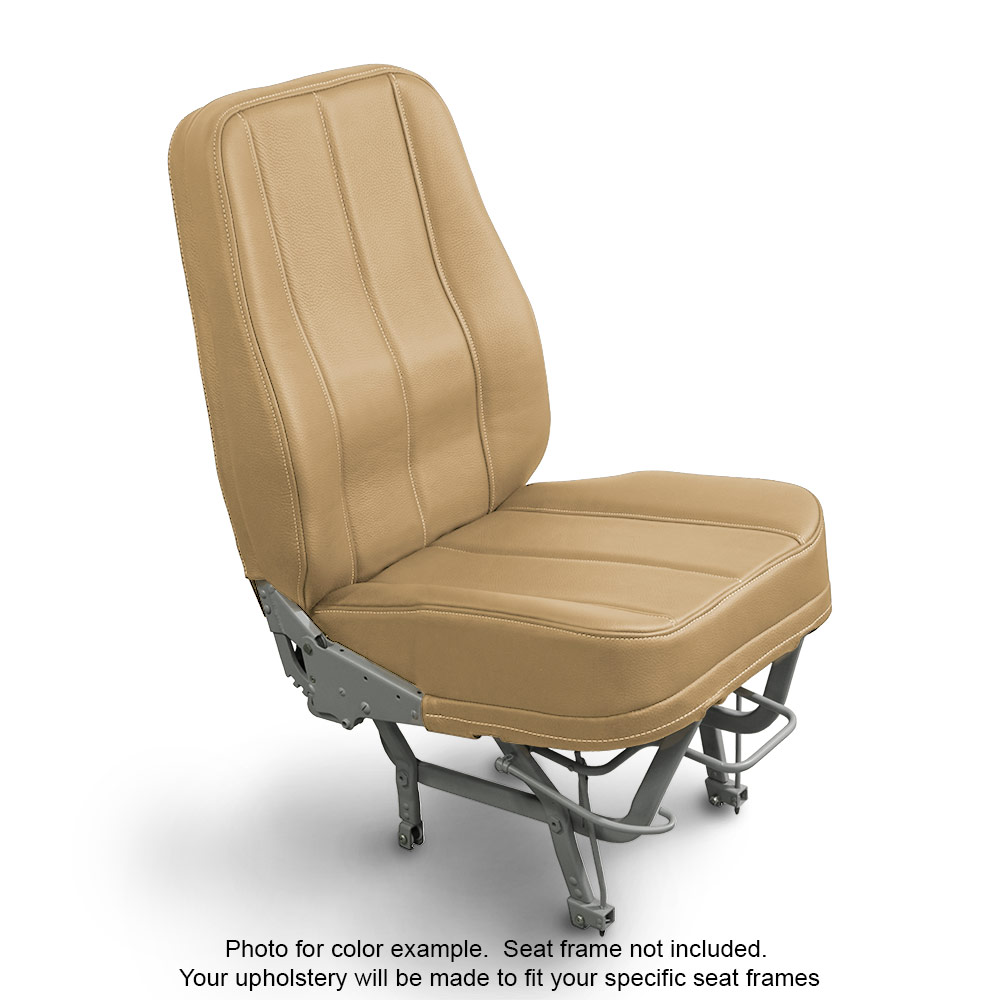 Leather Dune Seat Upholstery For Cessna and Piper