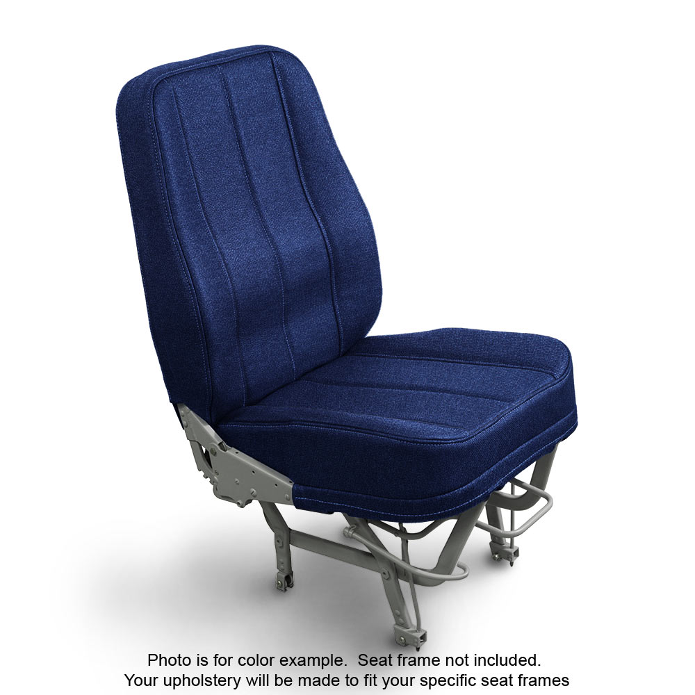 Fabric Blue Seat Upholstery Choice