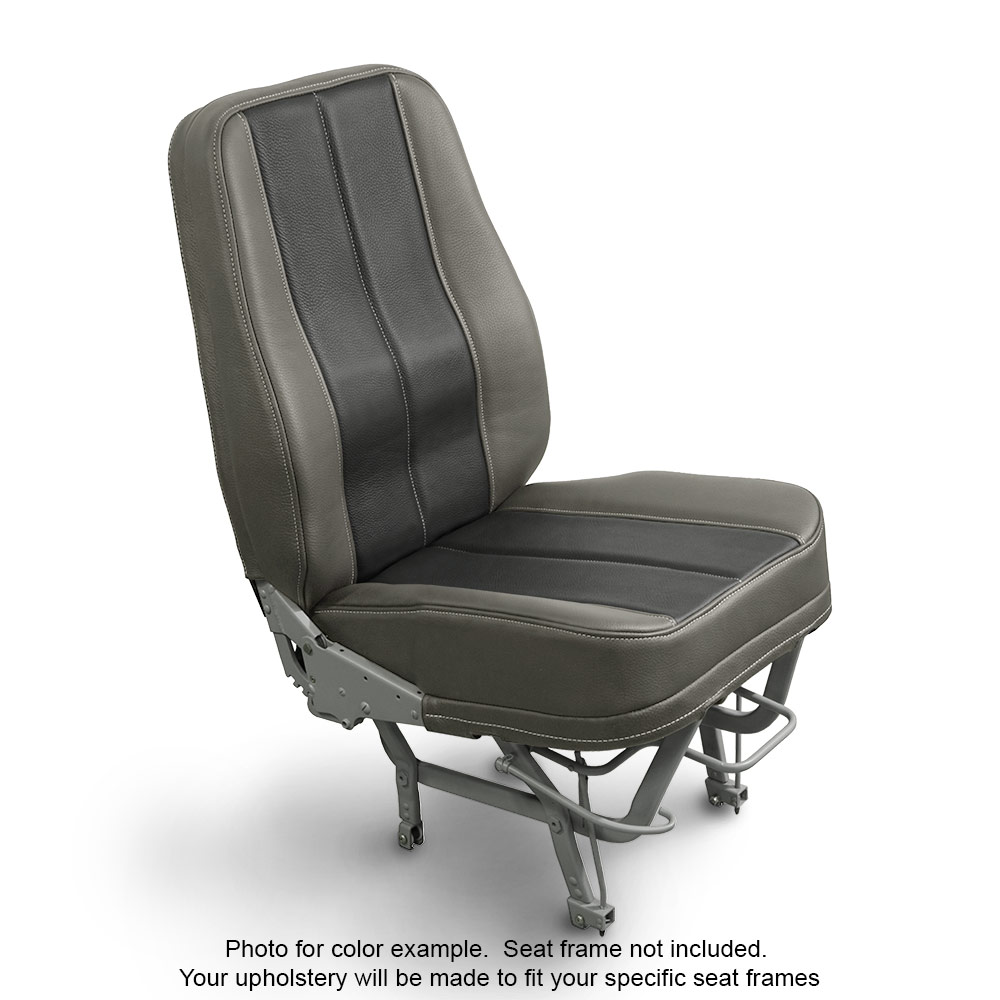 Leather Shale Black Aircraft Seats