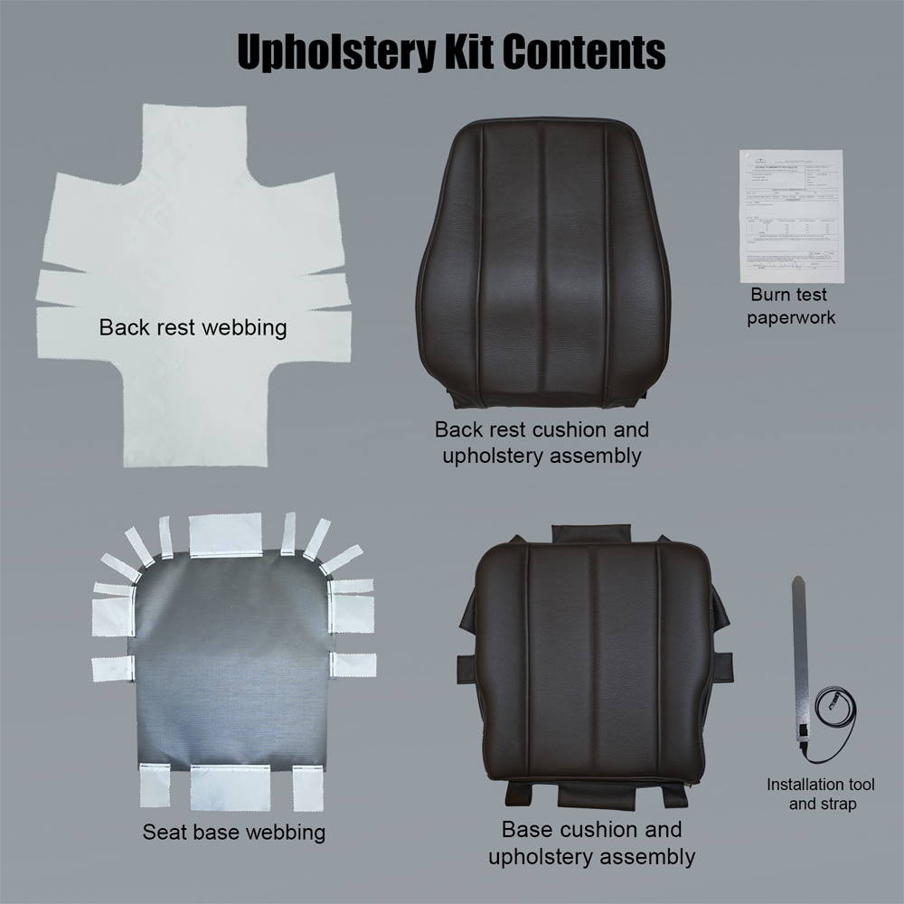 Upholstery Kit Contents